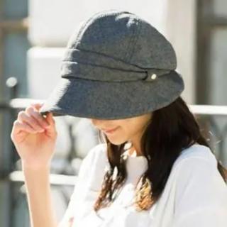 新品*QUEENHEAD 紫外線100%カット UV キャスケット 帽子 ハット(キャスケット)