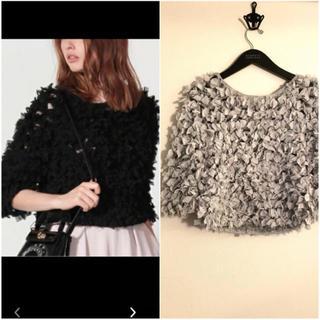 ファーファー(fur fur)のお値下げ⭐︎FUR FUR リボンニットトップス(ニット/セーター)