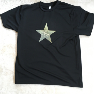 ヤザワコーポレーション(Yazawa)の矢沢永吉ゴールドスターサイン入りTシャツXL新品(Tシャツ/カットソー(半袖/袖なし))