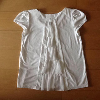 Doux archives🌟バックレース ホワイトTシャツ