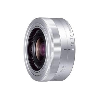 パナソニック(Panasonic)のパナソニック カメラ用交換レンズ(標準ズームレンズ:シルバー)(レンズ(ズーム))