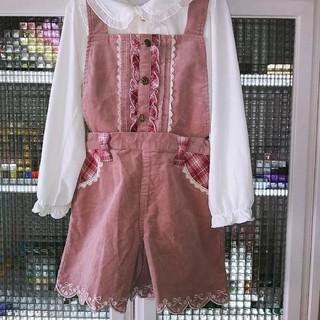 アクシーズファム(axes femme)のピンク色キュロット(その他)