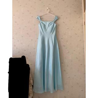 AIMER - エメ ロングドレス  水色