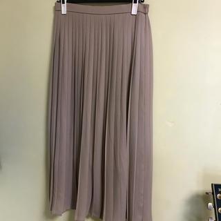 ユニクロ(UNIQLO)のUNIQLOシフォンプリーツロングスカート(ロングスカート)