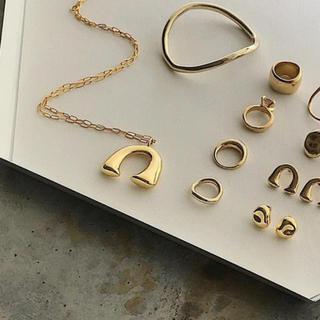ドゥーズィエムクラス(DEUXIEME CLASSE)のchieko  c + bonheur necklace gold(ネックレス)