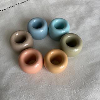 ムジルシリョウヒン(MUJI (無印良品))の無印 歯ブラシスタンド 6色(歯ブラシ/歯みがき用品)
