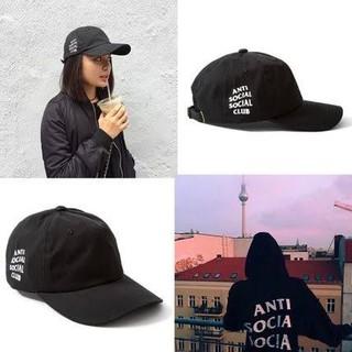 アンチ(ANTI)のWEIRD CAP Black anti social social club(キャップ)