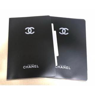 CHANEL - シャネル CHANEL  クリアファイル A4サイズ  2枚セット  未使用新品