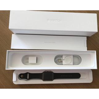 アップルウォッチ(Apple Watch)の【送料込/美品】アップルウォッチ MNT72J/A(スマートフォン本体)