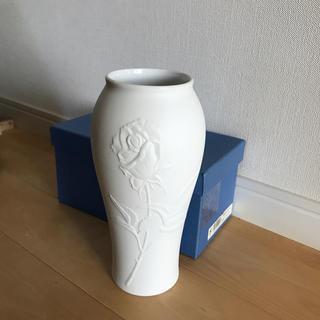ナルミ(NARUMI)のナルミ 白 花瓶(花瓶)