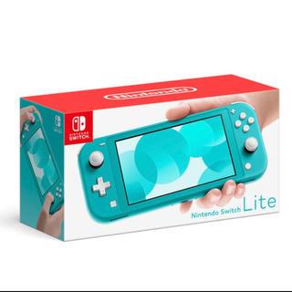 ニンテンドースイッチ(Nintendo Switch)のNintendo Switch Lite ターコイズ 新品未開封(携帯用ゲーム機本体)