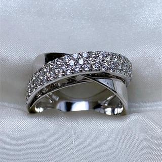 PonteVecchio - ポンテヴェキオ K18WG ダイヤファッションリング