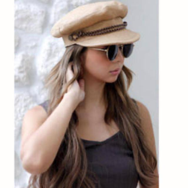 room306 CONTEMPORARY(ルームサンマルロクコンテンポラリー)のbrixton KAYLA ストローキャスケット S レディースの帽子(キャスケット)の商品写真