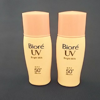 ビオレ(Biore)のBioreビオレUVさらさらブライトミルク30mlΧ2本(乳液/ミルク)