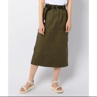 ダントン(DANTON)のdanton ベルト付きスカート(ひざ丈スカート)
