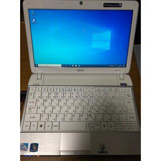 エイサー(Acer)の【値下げ可能】acer ノートPC ASPIRE1410 Windows10(ノートPC)