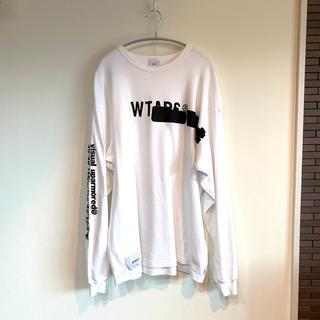 W)taps - 【19AW】WTAPS side effect tee ロンT 白 XL