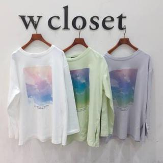 w closet - ロンT