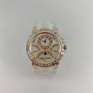 ハリーウィンストン(HARRY WINSTON)のハリーウィンストン オーシャントリレトロ バケットダイヤ ピンクゴールド(腕時計(アナログ))