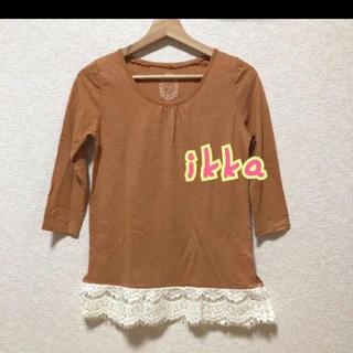 ikka - ikka 七分袖カットソー