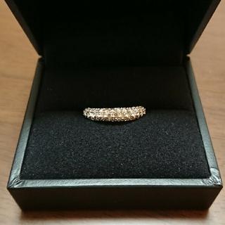20号 K18WG ダイヤモンド 1ct パヴェリング(リング(指輪))