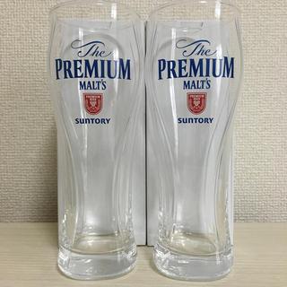 サントリー - プレミアムモルツ ビアグラス2個&Tシャツセット