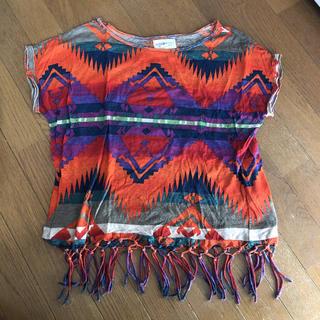 デニムアンドサプライラルフローレン(Denim & Supply Ralph Lauren)のDENIM&SUPPLY RALPH LAUREN フリンジ TOP(Tシャツ(半袖/袖なし))