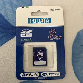 アイオーデータ(IODATA)のSDカード8G(その他)