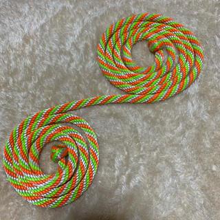 チャコット(CHACOTT)の美品 ジムロープ 新体操 ロープ カット無し 実寸 2m48㎝ (その他)