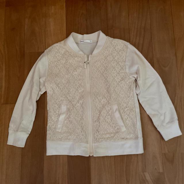 ikka(イッカ)のikka ブルゾン 120 キッズ/ベビー/マタニティのキッズ服女の子用(90cm~)(ジャケット/上着)の商品写真