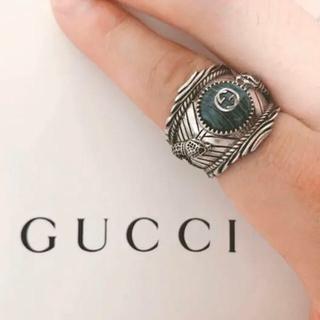 グッチ(Gucci)のGucci garden silver ring(リング(指輪))
