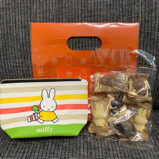 モロゾフ(モロゾフ)の名古屋限定 ミッフィー チョコレート ポーチ付き(菓子/デザート)