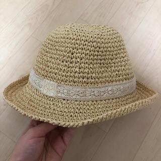 エイチアンドエム(H&M)の麦わら帽子 ストローハット カンカン帽(麦わら帽子/ストローハット)