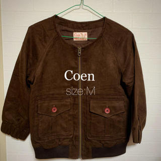 コーエン(coen)のCoen レディースジャケット サイズ M(ノーカラージャケット)