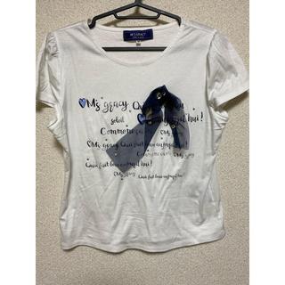 エムズグレイシー(M'S GRACY)のTシャツ カットソー トップス 40(Tシャツ(半袖/袖なし))