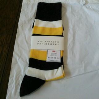 マッキントッシュフィロソフィー(MACKINTOSH PHILOSOPHY)の靴下 25~27cm(ソックス)