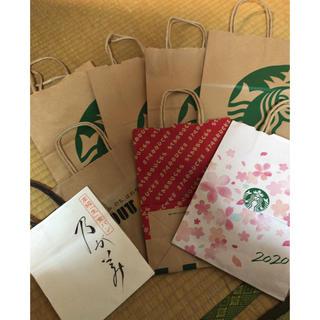 スターバックスコーヒー(Starbucks Coffee)のスタバ 乃がみ ドトール 紙袋(その他)