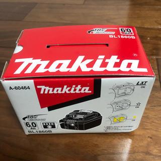 マキタ(Makita)の新品未使用 マキタ バッテリー 18v 6.0Ah BL1860B makita(その他)