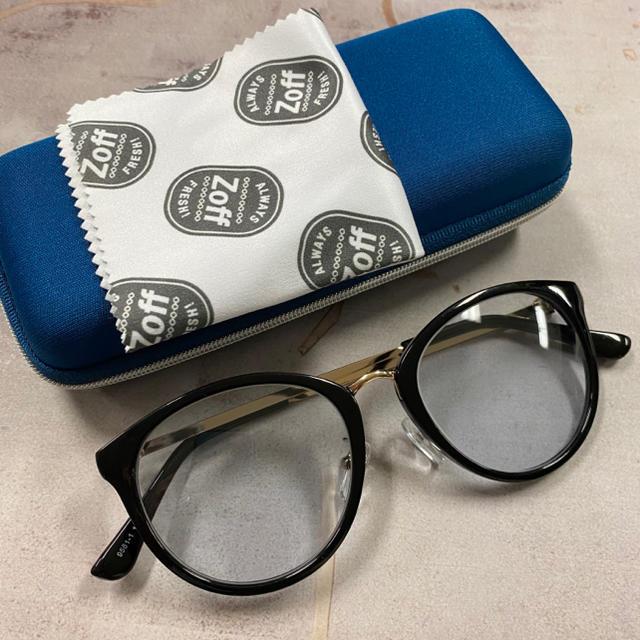 Zoff(ゾフ)のボストンタイプ カラーサングラス  レディースのファッション小物(サングラス/メガネ)の商品写真