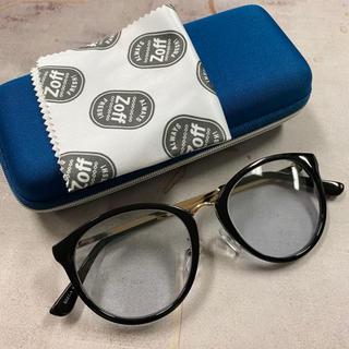 Zoff - ボストンタイプ カラーサングラス