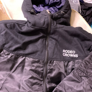 RODEO CROWNS WIDE BOWL - RODEO CROWNSコンビフードMA-1
