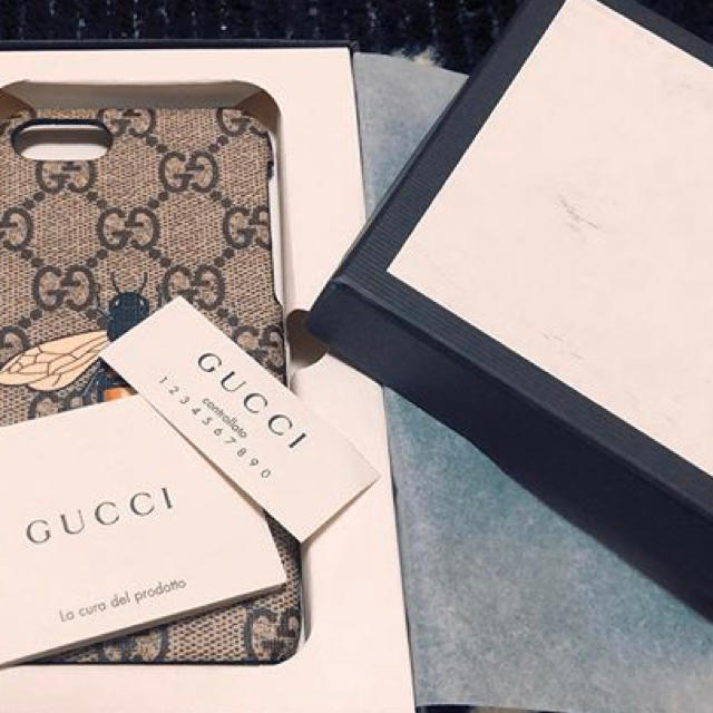 Gucci - GUCCI iPhone8ケース の通販