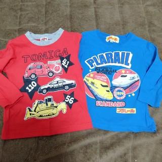 タカラトミー(Takara Tomy)のトミカ プラレール Tシャツ 90 セット価格(Tシャツ/カットソー)