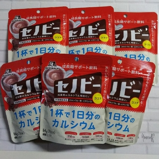 モリナガセイカ(森永製菓)のセノビー84g(7日分) 6袋(その他)