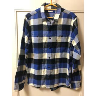 GU - 新品・未使用 GU メンズ 長袖 チェックシャツ ○*毎日郵送致します*○