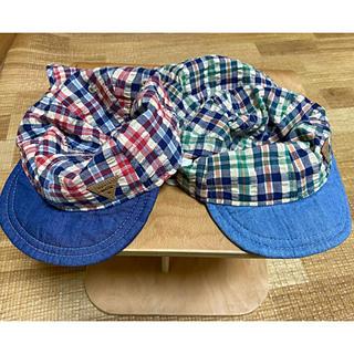 プティマイン(petit main)のpetit main  帽子 2つセット(帽子)