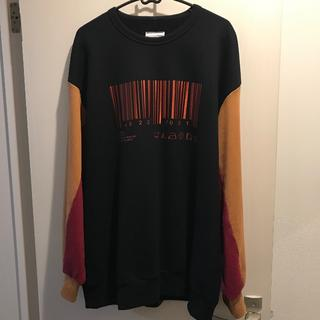 シャリーフ(SHAREEF)の¥18700 SHAREEF BARCODE BIG SWEAT(スウェット)