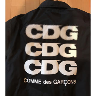 コムデギャルソン(COMME des GARCONS)のコム デ ギャルソン CDG コーチジャケット ブラック S(ナイロンジャケット)