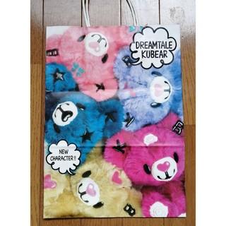 サンリオ(サンリオ)の新品 サンリオ DREAMTALEKUBEAR ショップ袋 紙袋 ショッパー(ショップ袋)
