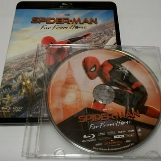 MARVEL - スパイダーマン ファーフロムホーム ブルーレイ 新品未使用